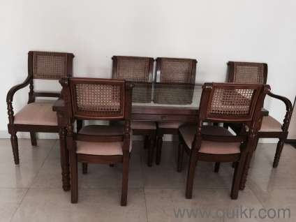Dining Table And Chairs In Khar Mumbai Used Home Office Furniture On Mumbai Quikr Classifieds