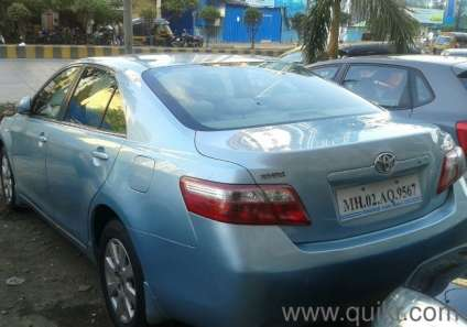 blue 2006 toyota camry 2 5l at 90 000 kms driven mumbai. Black Bedroom Furniture Sets. Home Design Ideas