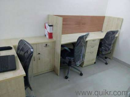 Office Modular Furniture In New Condition Withchairs Available Mumbai