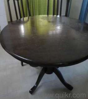2 Chairs Dining Table For Sale In Kandivali East Mumbai Used Home Office F