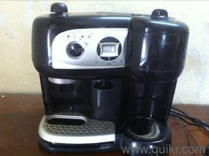 Coffee Maker Quikr : Delonghi expresso coffee maker for sale in Kanjur Marg East, Mumbai Used Home - Kitchen ...
