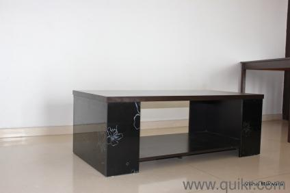 A Solid Wood Center Table Which Is As Good As New In