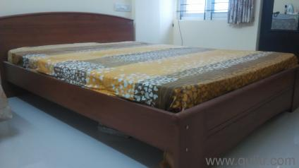 Zuari Queen Size Cot In Bannerghatta Road Bangalore Used Home Office Furniture On Bangalore