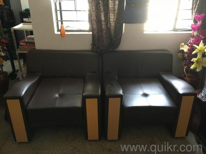 One Set 2 Single Seater Godrej Interio Sofa With Cushions In Kadma Jamshedpur Used Home