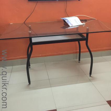 Glass Dining Table New In Gandhi Nagar Bangalore Used Home Office Furniture On Bangalore