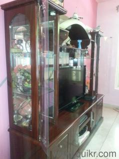 TV Stand With Showcase In RT Nagar Bangalore Used Home