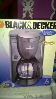 Coffee Maker Quikr : Black & Decker coffee maker with original packing in Banashankari, Bangalore Used Home - Kitchen ...