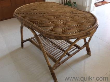 Cane Center Table In Kalyan Nagar Bangalore Used Home Office Furniture On Bangalore Quikr