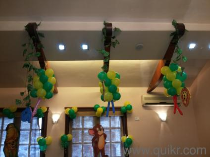 3d theme and balloon decoration for birthday parties in for Balloon decoration in mumbai