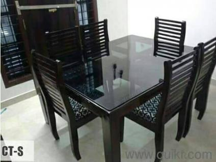 7  Innovative style glass top dining set freshHome   Office Furniture Online in Trivandrum   SecondHand   Used  . Dining Table Set Price In Kerala. Home Design Ideas