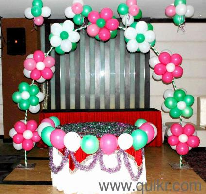 Fs balloons and decoration in andheri west mumbai event for Balloon decoration in mumbai