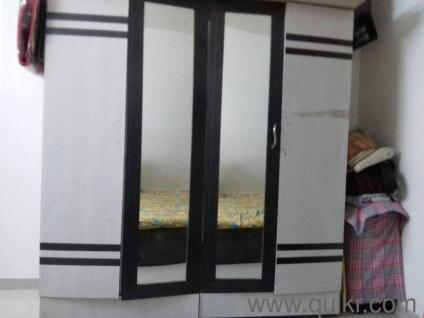 4 door Wardrobe with two Mirrors and a Dressing table   Gently Home    Office Furniture   Wakad  Pune   QuikrGoods. 4 door Wardrobe with two Mirrors and a Dressing table   Gently