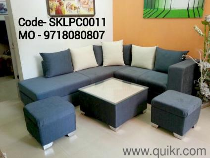 Sofa Set With 7 Cushions 2 Ottoman Center Table Top Glass New Branded On Wholesale Price HURRY 9718080807