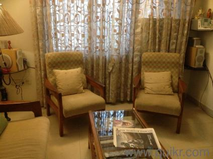 piece teak wood sofa set for sale Rs  - Almost Home