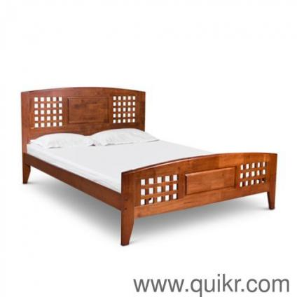 Sheesham solid wooden furniture double bed - Brand Home - Office