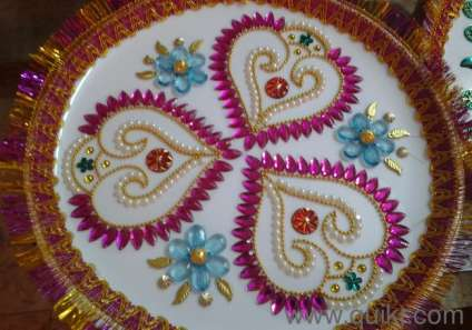 Aarathi plates and varisai thattu chennai tattoo for Aarathi plates decoration