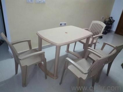 Plastic Dining tables 4 Seater Good Quality Home Office