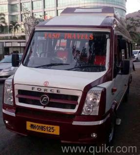17 Seater Tempo Traveller Pkn A C Luxury Coach Vehicle On