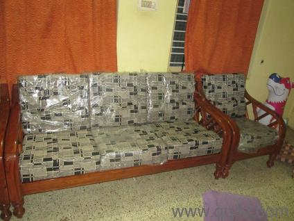 Kanpur Teak Wood Sofa for Sale - Almost Home - Office Furniture - Bangalore   QuikrGoods