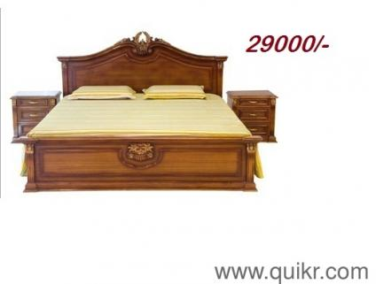 solid wooden furniture storage king size double cot - Brand Home - Office  Furniture - Pune  QuikrGoods