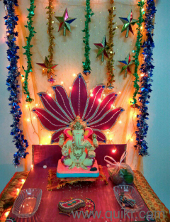 Top Pictures For Gauri Ganapati Decoration At Home India Buy Home Decor Furnishing Products