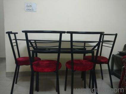 Used Glass Top Dining Table Bangalore F Wall Decal