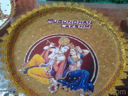 Sai mirra aarathi plates for weddings in anna nagar east for Aarathi plates decoration