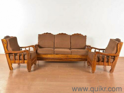 Strong Heavy Teak Wood Sofa Almost Home Office Furniture Banasavadi Bangalore Quikrgoods