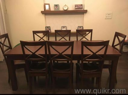 Solid teak wood dining table - Almost Home - Office Furniture