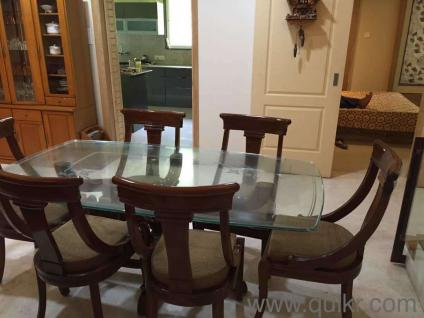 Seater Dining Table in Solid Wood - Gently Home - Office