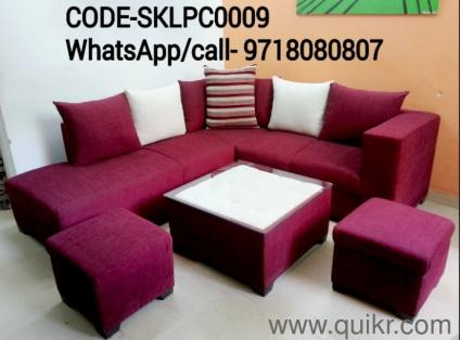 Sofa Set 6 Seater 2 Ottoman Center Table New Brand On Wholesale Price With High Quality SK F DECOR