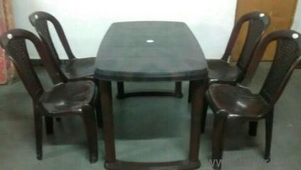 Fiber Dining Table Price In Hyderabad 4 seater dining setWoodys