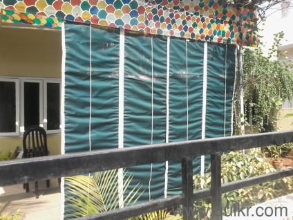 Bamboo curtains for balcony in hyderabad curtain for Window ke parde
